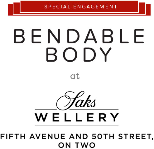 Special Engagement - Bendable Body at Saks Wellery, Fifth Avenue and 50th Street, on Two